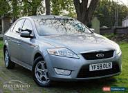 2010 FORD MONDEO 1.8 TDCI  ZETEC [125 BHP] 5 DOOR HATCHBACK - METALLIC SILVER for Sale